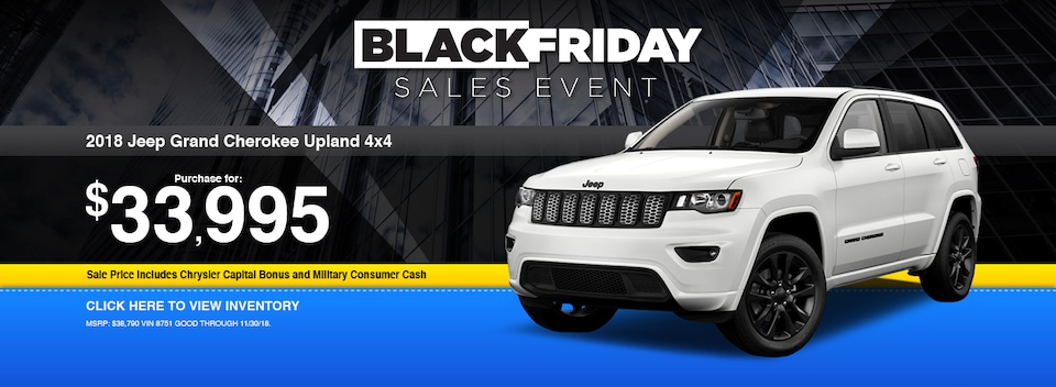 2018 Jeep Grand Cherokee Upland 4x4 Special