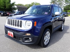 Certified 2016 Jeep Renegade Limited 4x4 SUV Brunswick ME