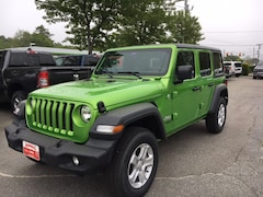 New 2019 Jeep Wrangler UNLIMITED SPORT S 4X4 Sport Utility Brunswick ME