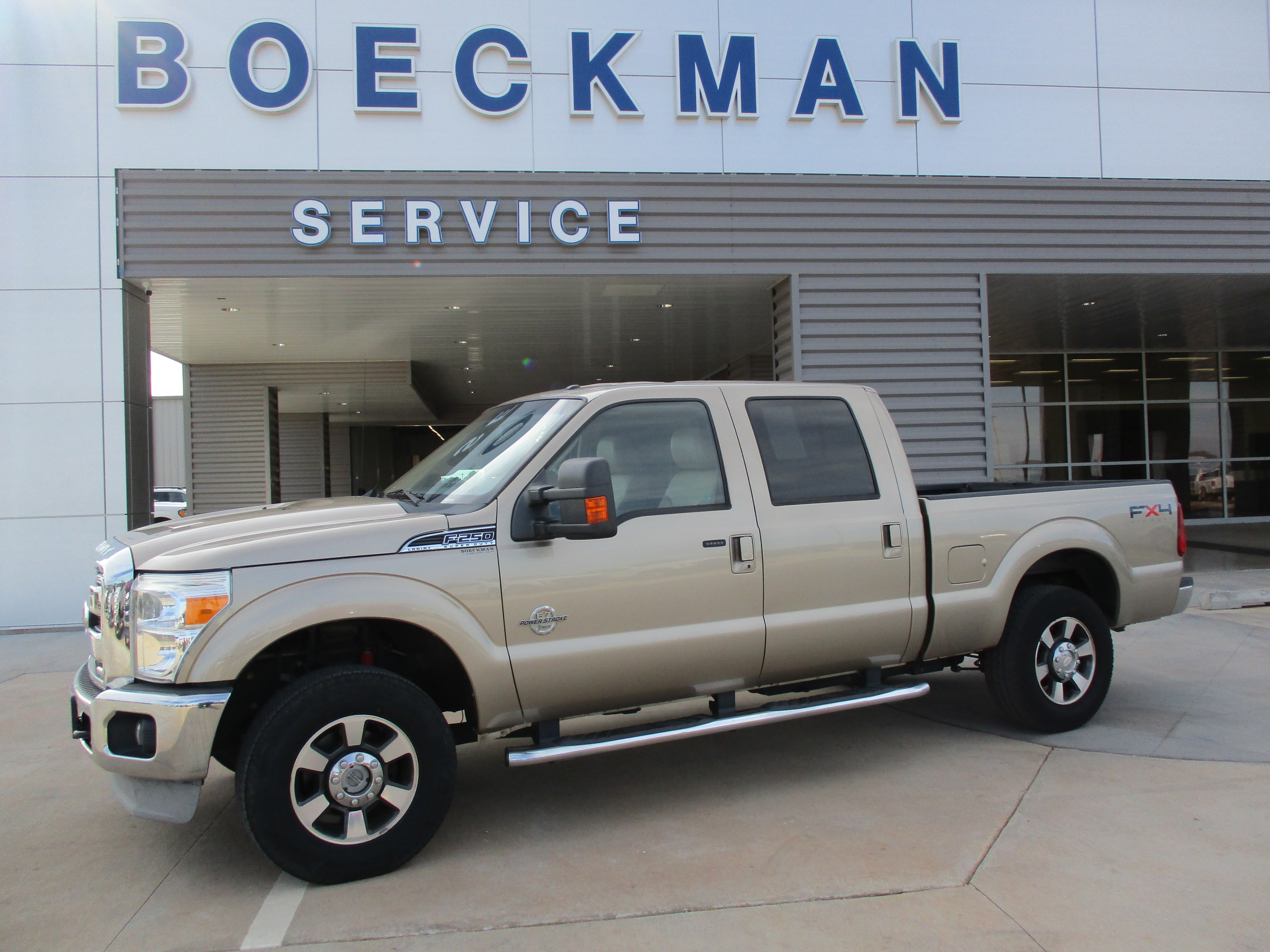 2011 Ford F-250 Crew Cab Truck