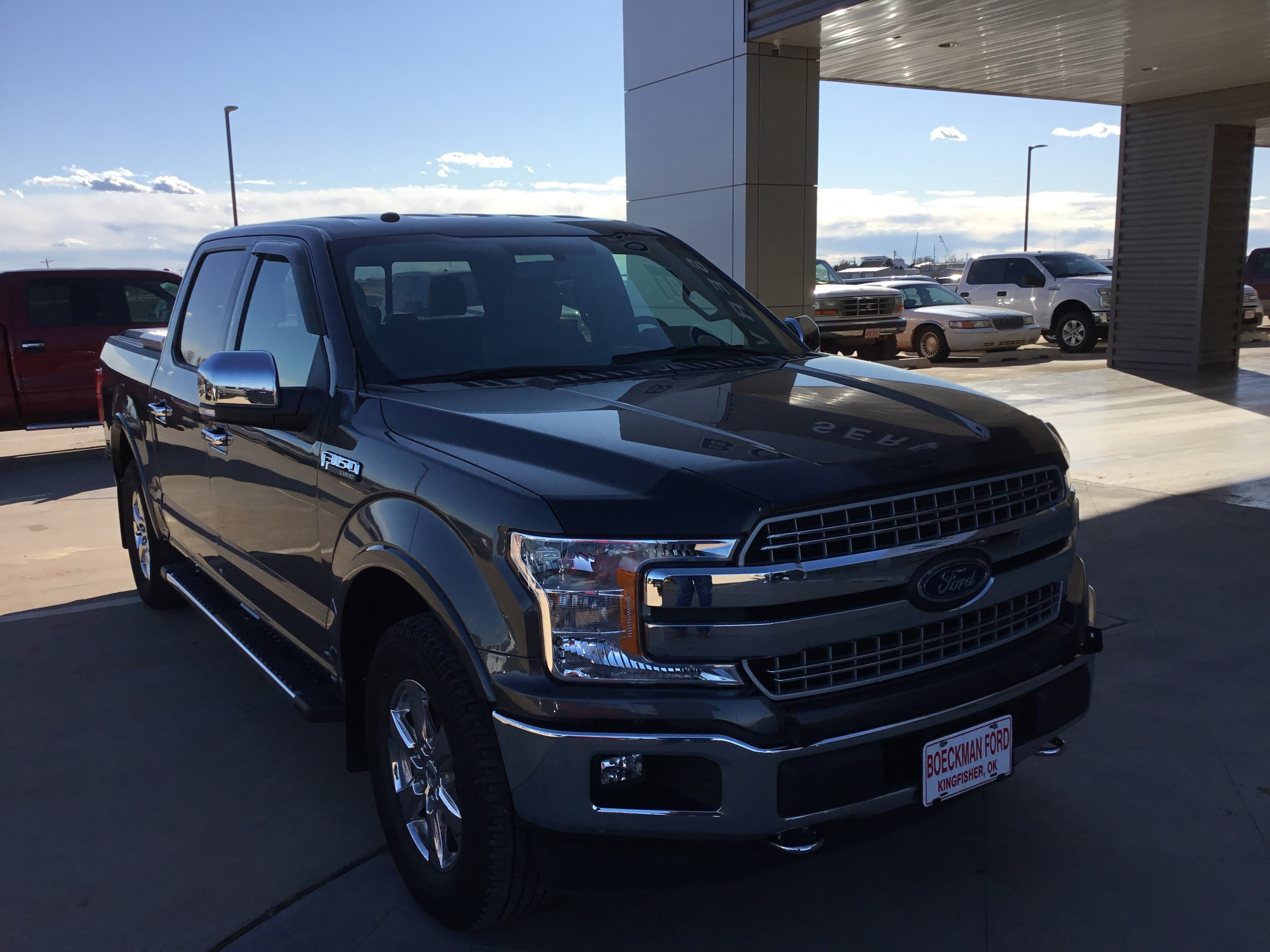 2018 Ford F-150 Lariat Chrome Crew Cab Short Bed Truck