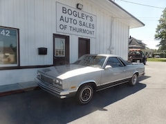 1987 Chevrolet El Camino Base Standard Cab