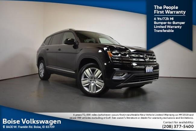 2019 Volkswagen Atlas SEL 4motion SUV