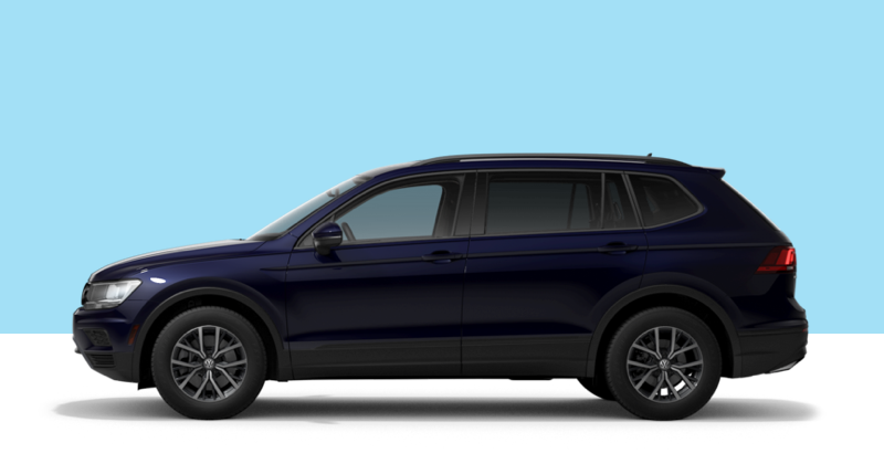 2021 VW Tiguan at Boise Volkswagen dealership