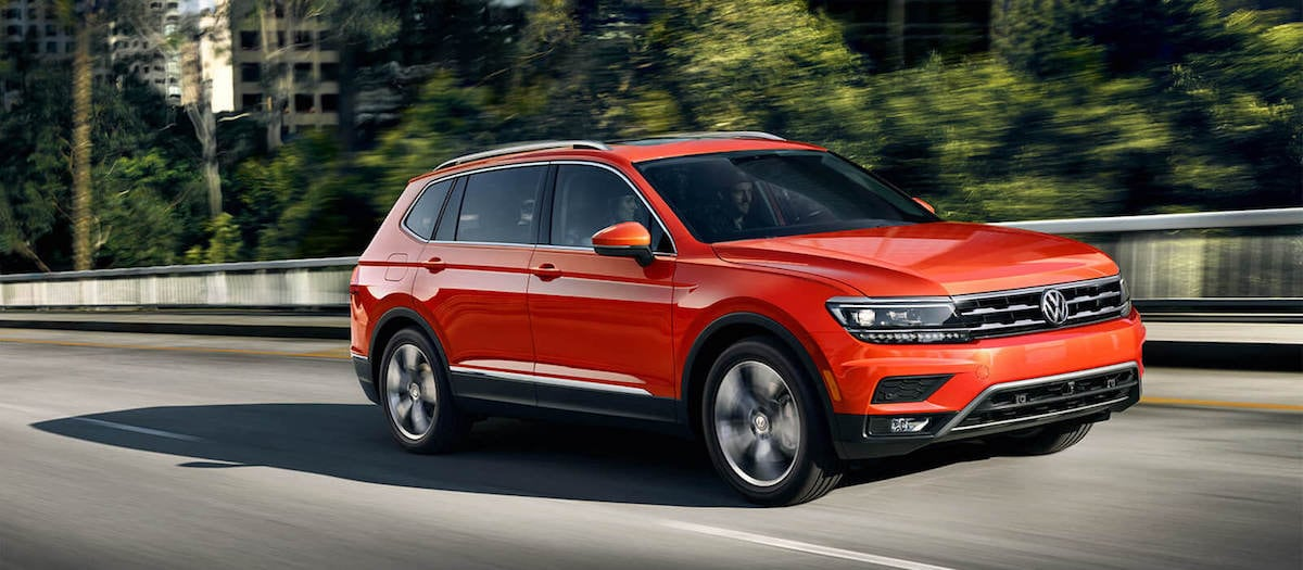 2019 Volkswagen Tiguan 0-60 mph speed vs competition