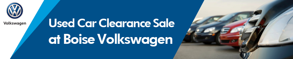 Used Car Specials clearance sale at Boise Volkswagen in Ada County