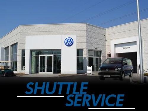 customer transportation shuttle service at Boise Volkswagen