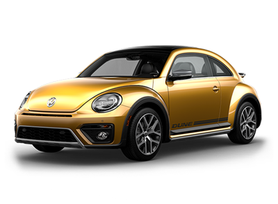 VW Beetle at Boise Volkswagen dealership near Middleton