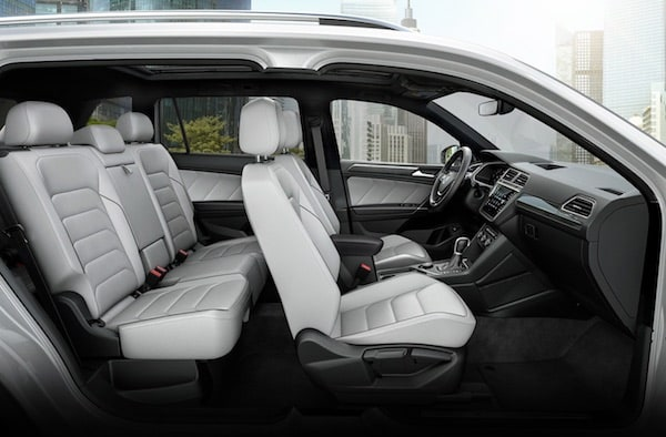 2020 Volkswagen Tiguan available Vienna leather seating surfaces
