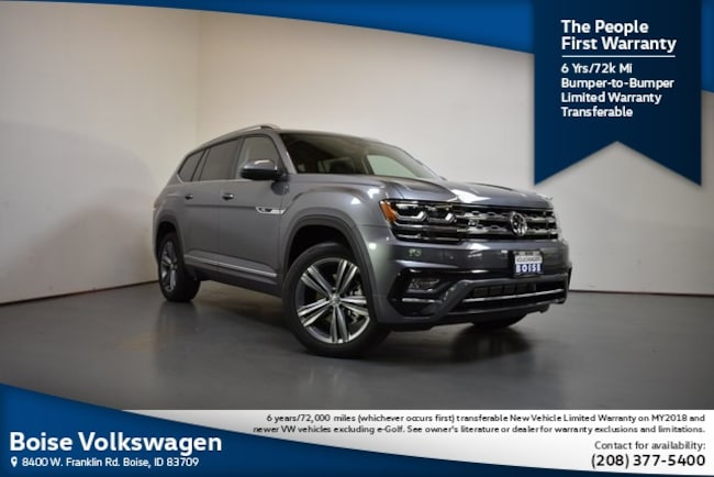 2019 Volkswagen Atlas SE w/Technology R-Line and 4motion SUV