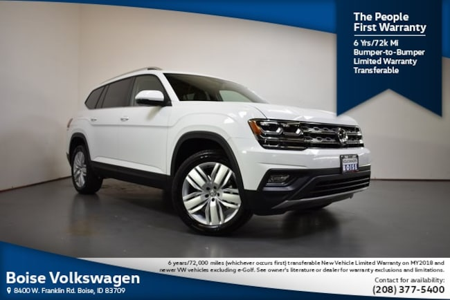 2019 Volkswagen Atlas SE w/Technology and 4motion SUV