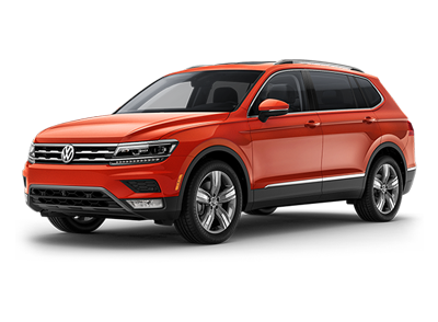 VW Tiguan at Boise Volkswagen dealership near Meridian