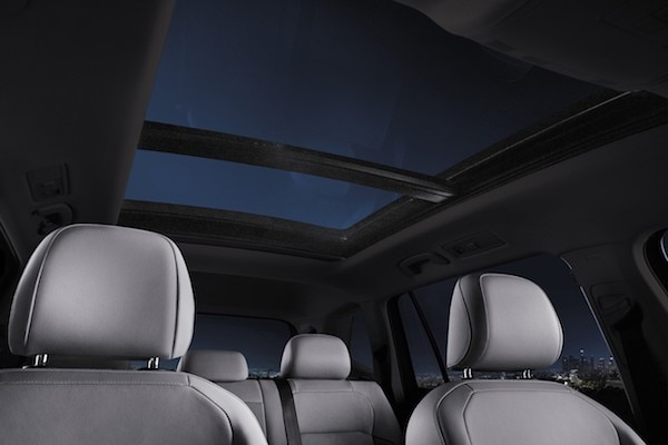 2020 Volkswagen Tiguan available panoramic sunroof