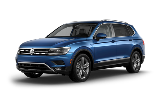 New 2019 VW Tiguan SUV for sale at Boise Volkswagen dealership near Caldwell