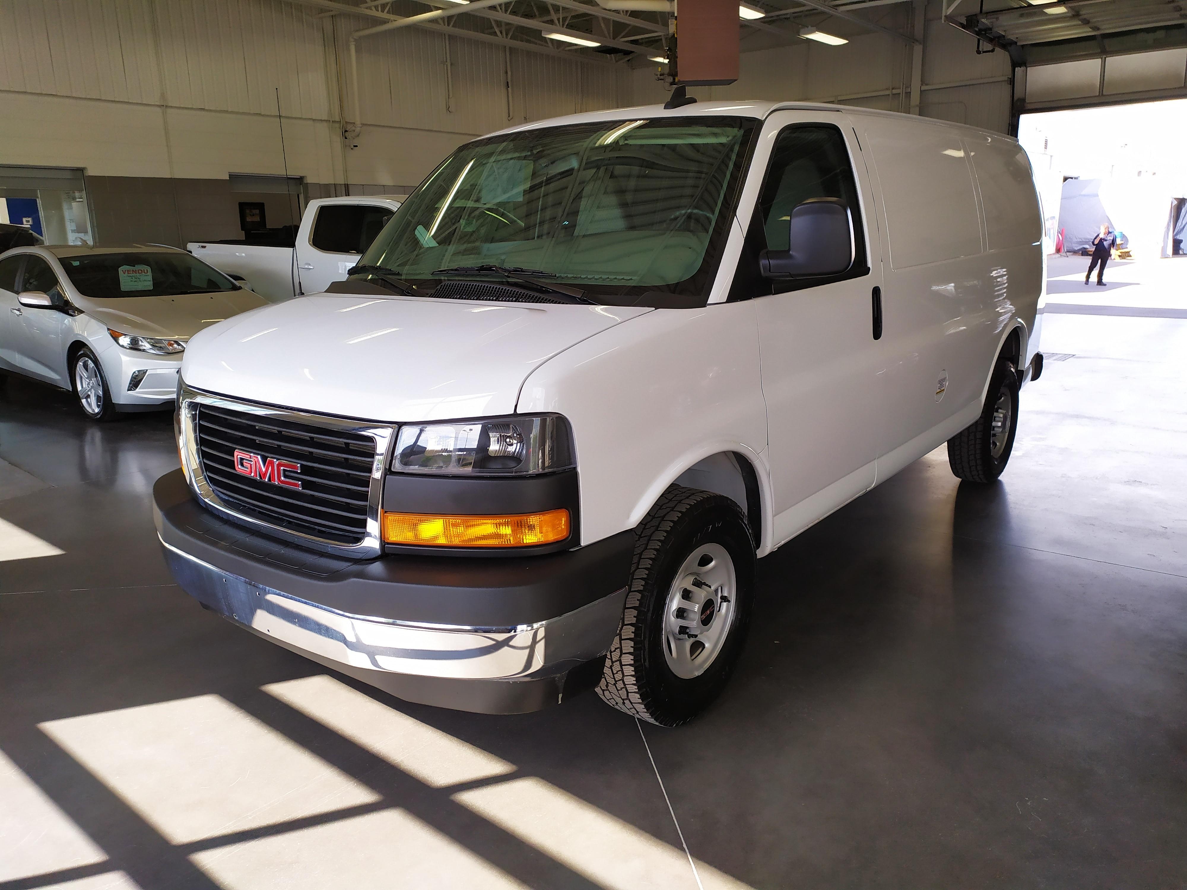 2019 GMC Savana 2500 CAMERA DE RECUL/VITRES ET PORTES ELECTRIQUE Van Extended Cargo Van