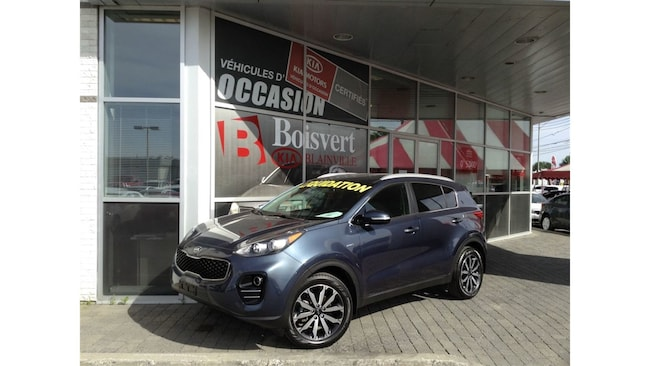 2017 Kia Sportage EX AWD DÉMO LIQUIDATION SUV Gas 6 Speed Automatic [] AWD Blue K8089 2.4L I-4 cyl