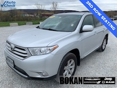 Used 2013 Toyota Highlander Base Plus V6 SUV for Sale in Saint Albans VT