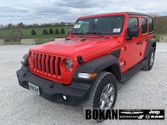 New 2020 Jeep Wrangler UNLIMITED FREEDOM 4X4 Sport Utility for Sale in St Albans, VT