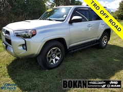 Used 2018 Toyota 4Runner TRD Off-Road SUV for Sale in Saint Albans VT
