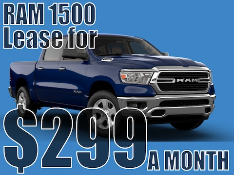 2021 RAM 1500 January Lease Special!