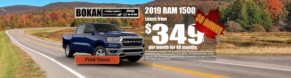 Lease from $349 a month with $0 down!
