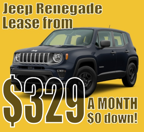 2021 Jeep Renegade April Lease Special