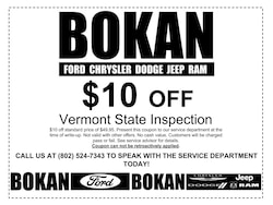 Vermont State Inspection Special