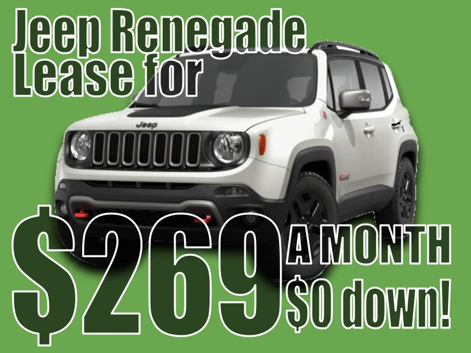 2020 Jeep Renegade August Lease specail!