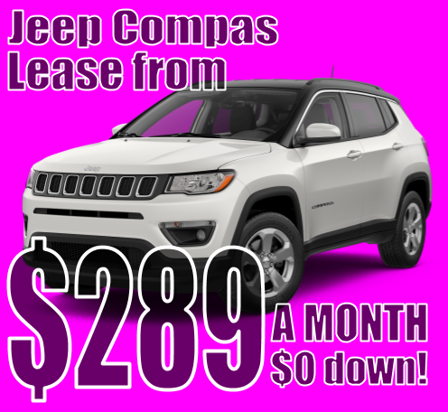 2021 Jeep Compass October Lease Special!