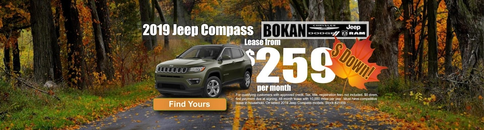 Lease from $259 a month with $0 down!
