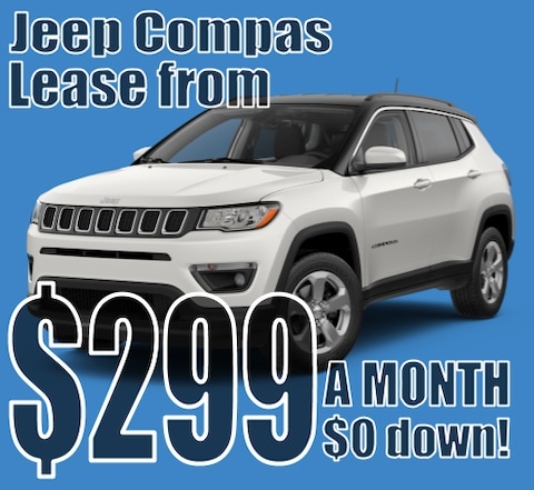 2021 Jeep Compass January Lease Special!