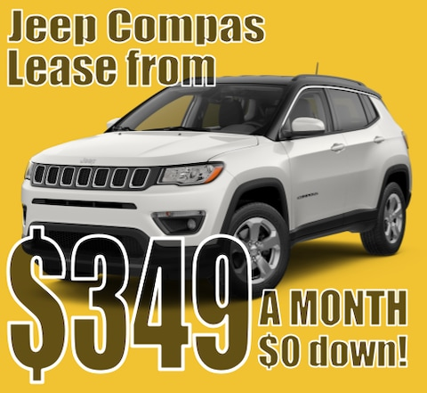 2021 Jeep Compass April Lease Special!