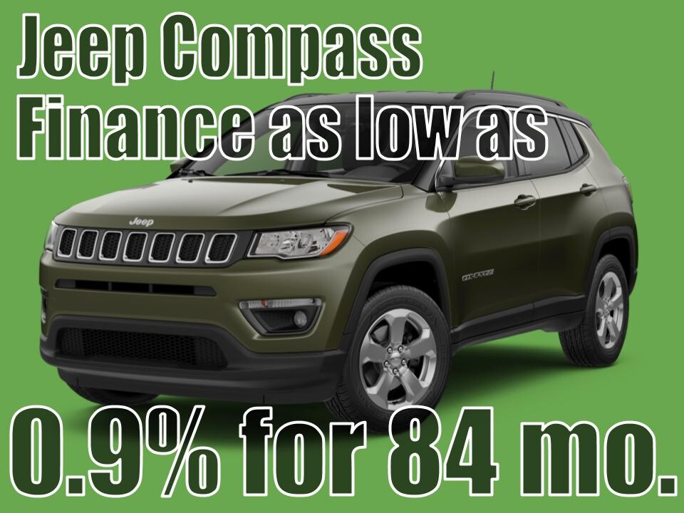 2020 Jeep Compass August Special!