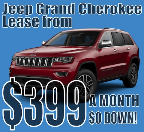 2021 Jeep Grand Cherokee January Lease Special!