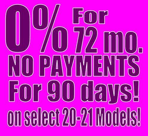 2020-2021 Model October Finance Special!