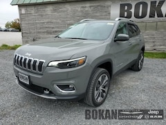 New 2021 Jeep Cherokee LIMITED 4X4 Sport Utility for Sale in St Albans VT