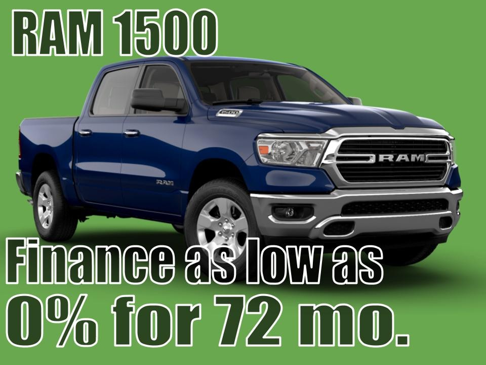 2020 RAM 1500 August Special!