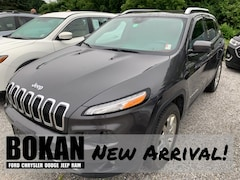 Used 2016 Jeep Cherokee Limited SUV for Sale in Saint Albans VT