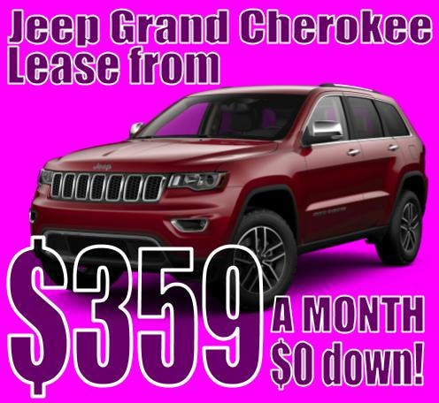 2020 Jeep Grand Cherokee October Lease Special!