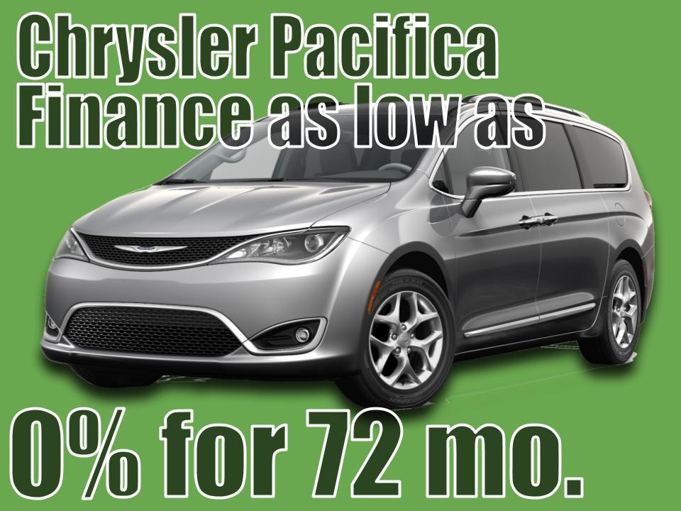 2020 Chrysler Pacifica August Special!