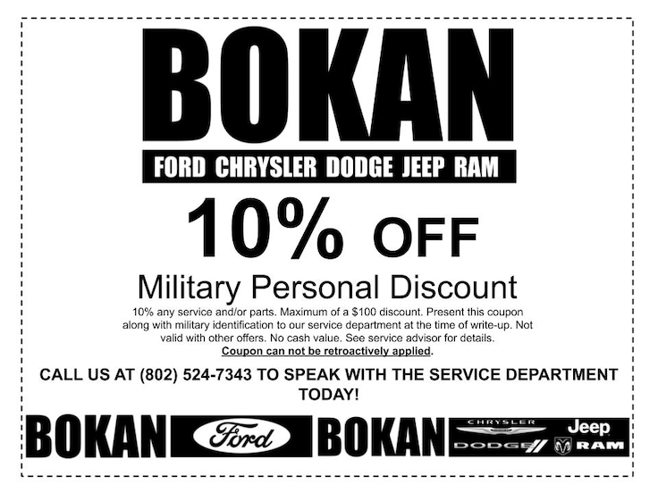 Service and Auto Parts Specials for Ford Trucks, Cars, and SUVs