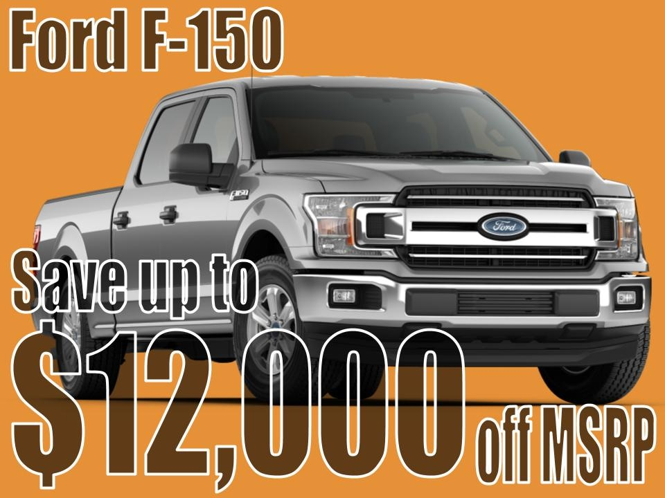 F-150 End of Summer Special!