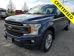 Used 2018 Ford F-150 XL Truck SuperCab Styleside for Sale in St Albans VT