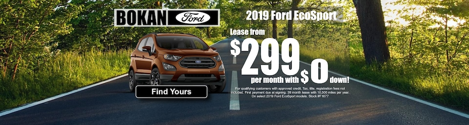 Lease from $299 a month!
