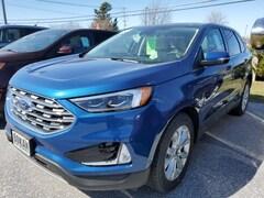 New 2020 Ford Edge Titanium SUV for Sale in Saint Albans VT