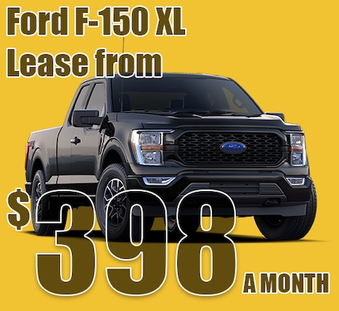 2021 May Ford F-150 XL Lease Special