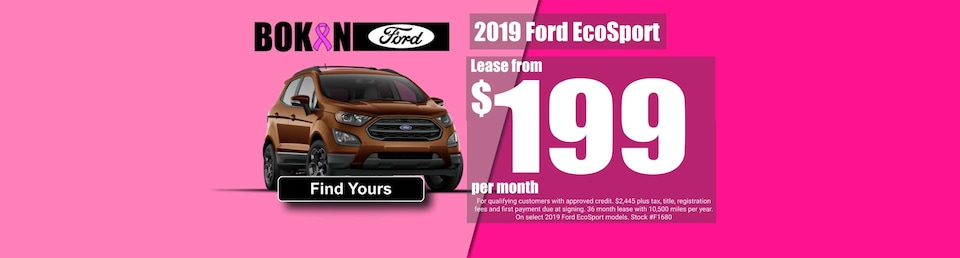 Lease from $199 a month!