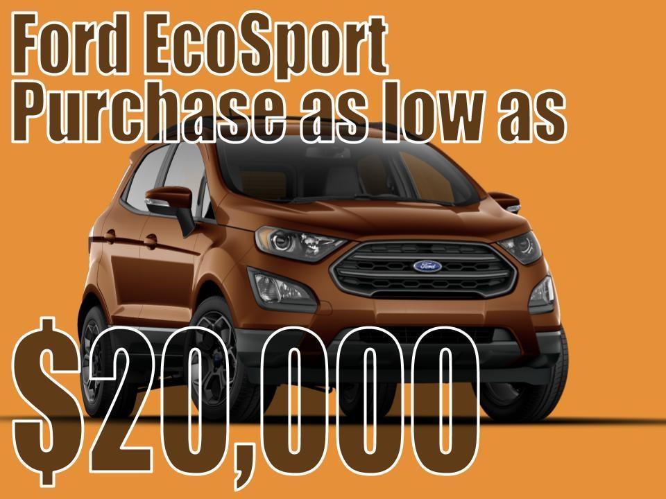 EcoSport September Special!