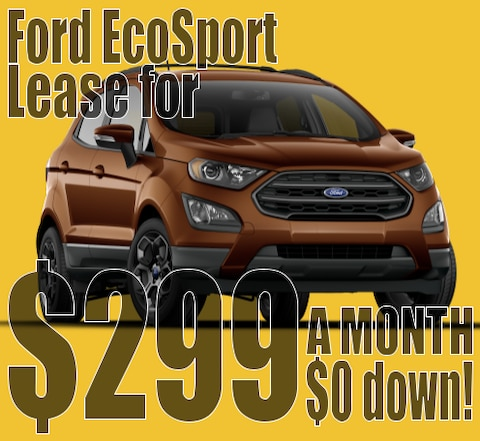 2020 Ford EcoSport March Lease Special