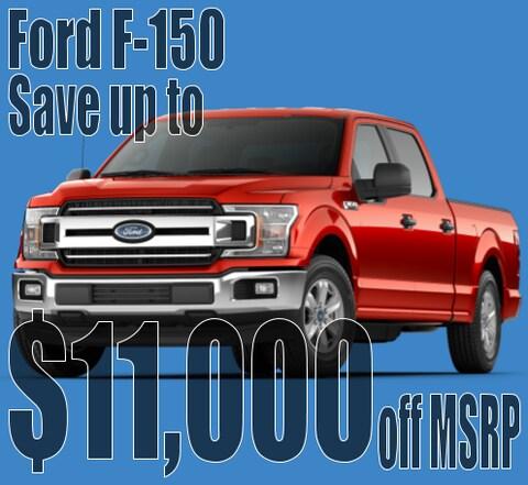 December F-150 savings!